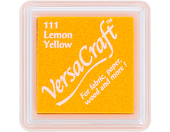 TVKS-111 Tinta VERSACRAFT para textil color amarillo limon Versacraft