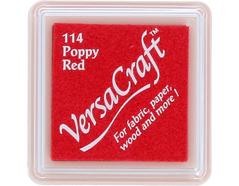 TVKS-114 Tinta VERSACRAFT para textil color rojo amapola Versacraft