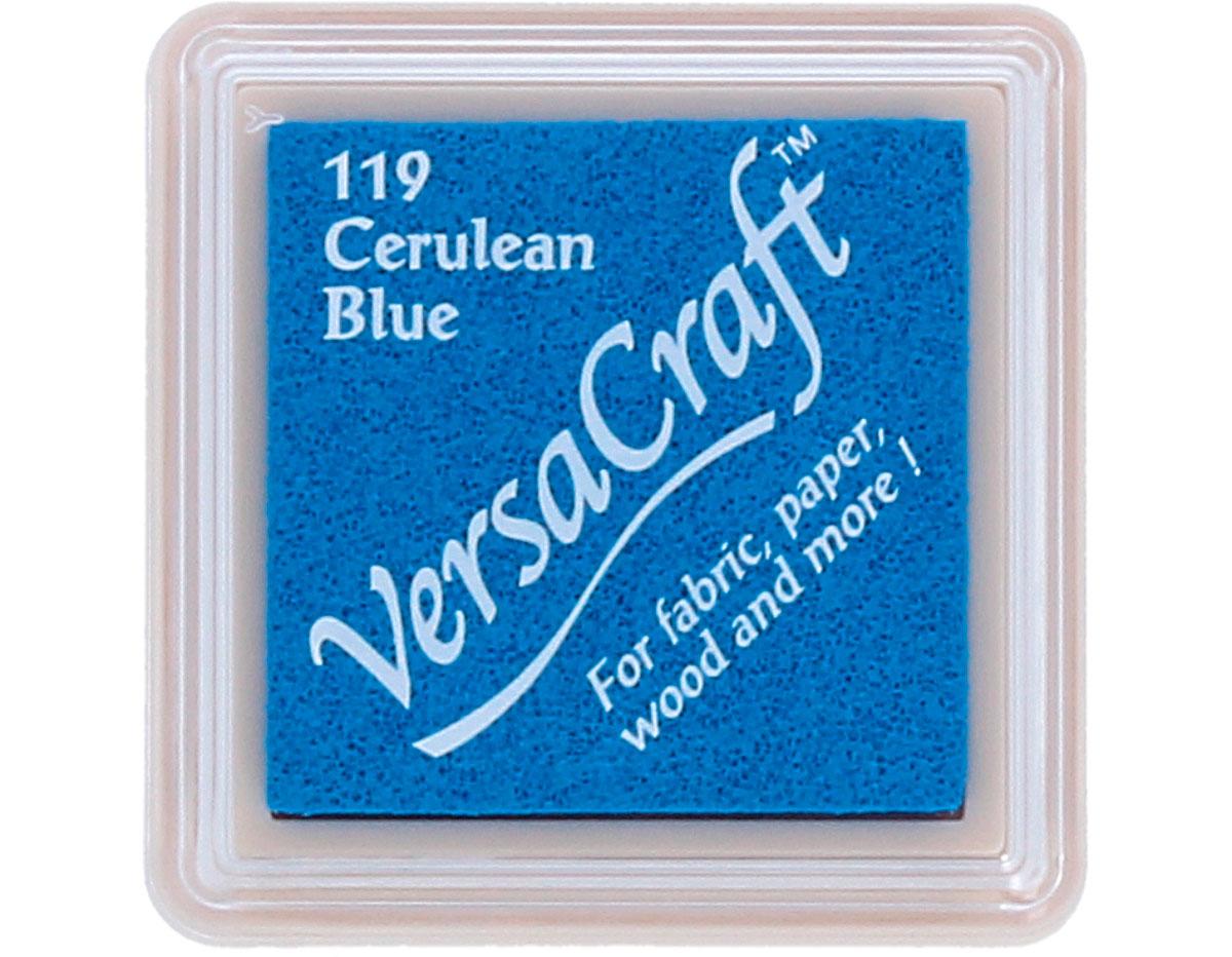 TVKS-119 Tinta VERSACRAFT para textil color azul ceruleo Versacraft