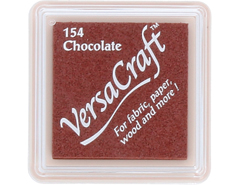 TVKS-154 Tinta VERSACRAFT para textil color chocolate Versacraft