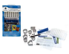 W29414 Set herramientas para repujado con Clay Walnut hollow