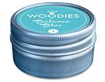 W99001 Almohadilla de tinta Balance Blue diam 38x22mm Woodies - Ítem2