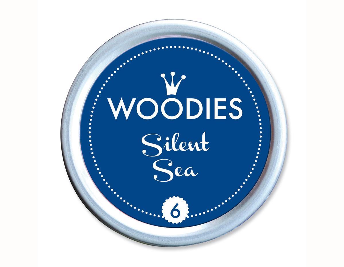 W99006 Almohadilla de tinta Silent Sea diam 38x22mm Woodies