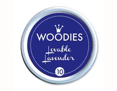 W99010 Almohadilla de tinta Lovable Lavender diam 38x22mm Woodies