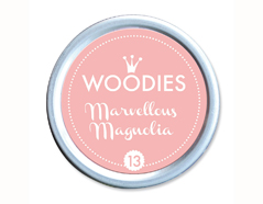 W99013 Almohadilla de tinta Marvellous Magnolia diam 38x22mm Woodies