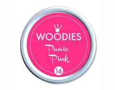W99016 Almohadilla de tinta Panic Pink diam 38x22mm Woodies
