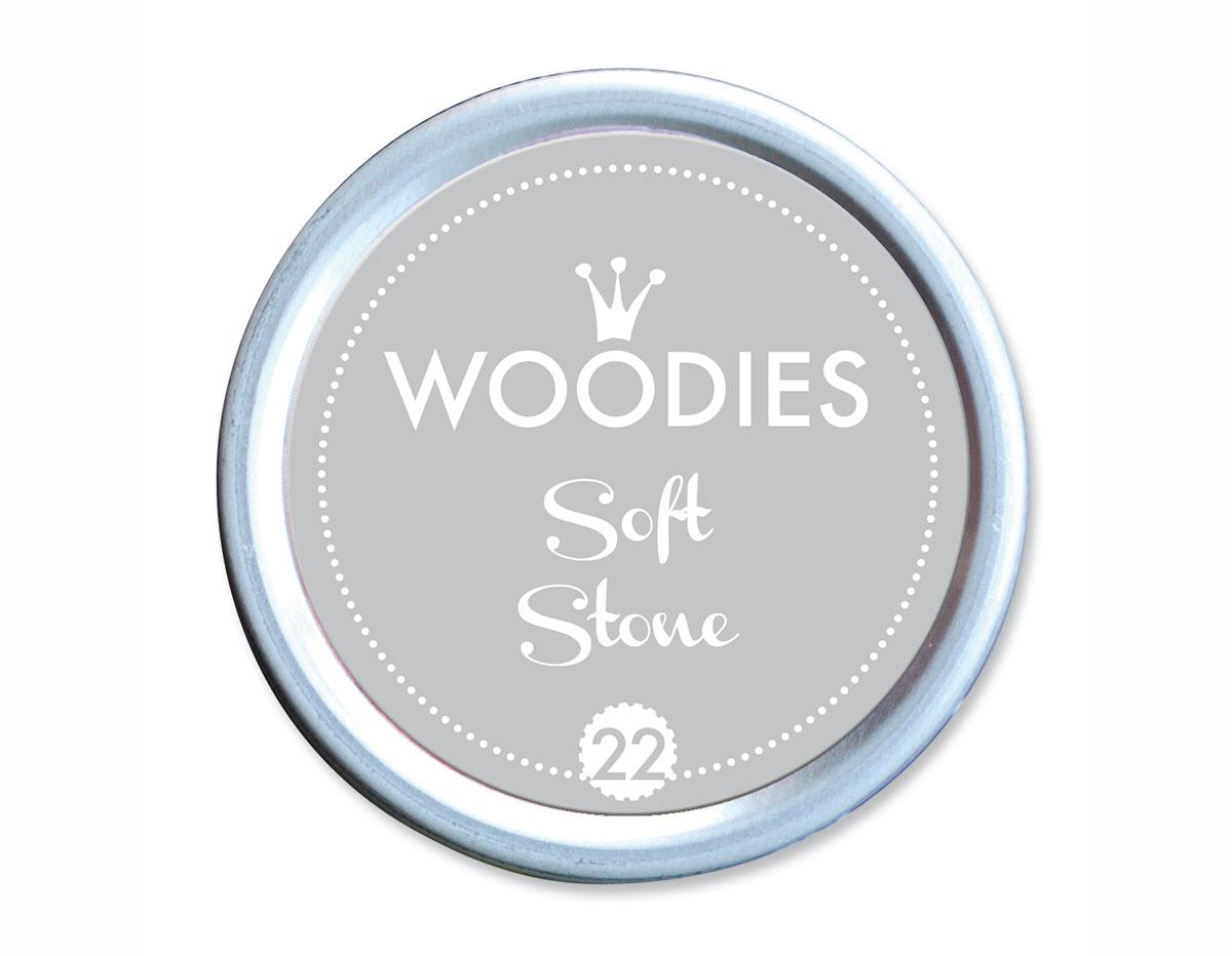 W99022 Almohadilla de tinta Soft Sone diam 38x22mm Woodies