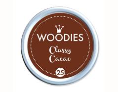 W99025 Almohadilla de tinta Classic Cacaco diam 38x22mm Woodies