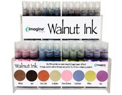 WI-096-001 Set 96 tintas efecto envejecido display Walnut Ink