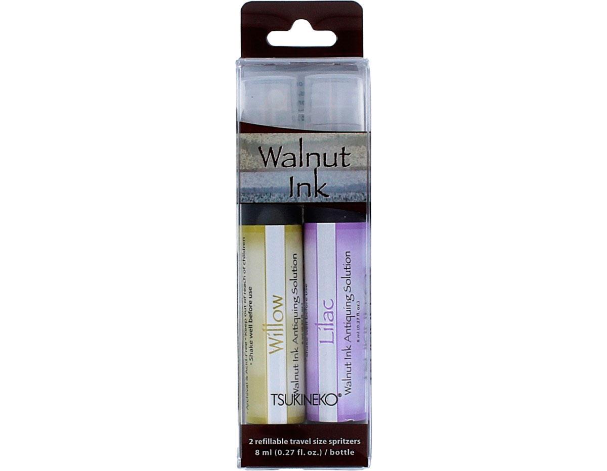 WI-SML-200 Set 2 sprays de tinta efecto envejecido patio posies Walnut Ink