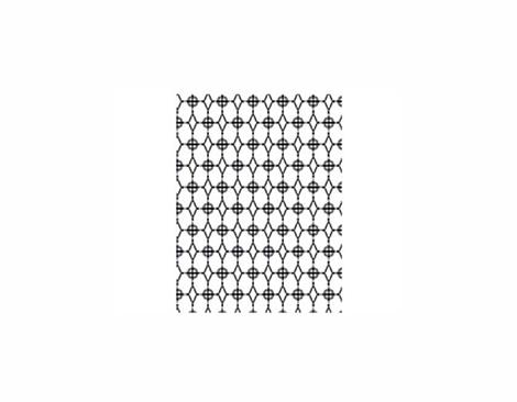 XHA-CG601 HIPSTER - HERO ARTS - CIRCLES DIAMONDS Basic Grey