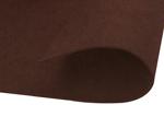 Z55428 Fieltro acrilico chocolate adhesivo 20x30cm 2mm 10u Felthu - Ítem1
