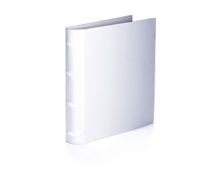 ZT7589 Album lomo bamboo blanco Zutter
