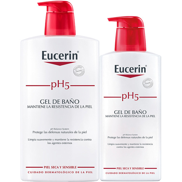 EUCERIN PH5 GEL DE BAÑO 1L+ 400ML GRATIS