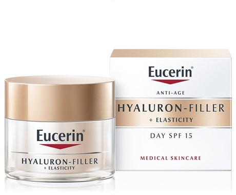 EUCERIN HYALURON FILLER + ELASTICITY CREMA DE DIA FPS 15 50ML