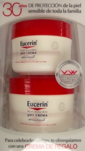 CREMA PIEL SENSIBLE PH-5 100 ML + REGALO:ENVASE DE 75 ML EUCERIN