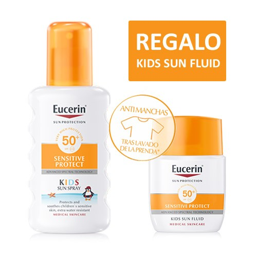 EUCERIN SUN PROTECTION 50+ SPRAY INFANTIL SENSIT 200 ML
