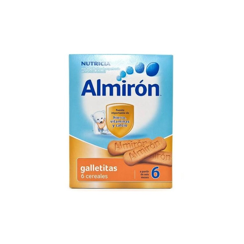 ALMIRON GALLETAS 6 CEREALES 180 G