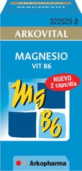 MAGNESIO VITAMINA B6 150 MG 50 CAP