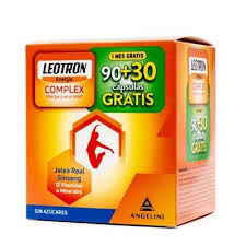 LEOTRON COMPLEX ANGELINI 90 + 30 CAPS de REGALO