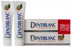 Dentiblanc Pasta Blanqueadora Intensiva Duplo 2x 100 ml con Papaya