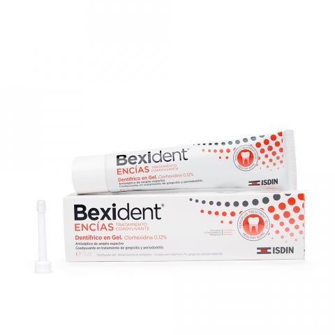 BEXIDENT ENCIAS GEL DENTIFIRICO CLORHEXIDINA 75 ML.