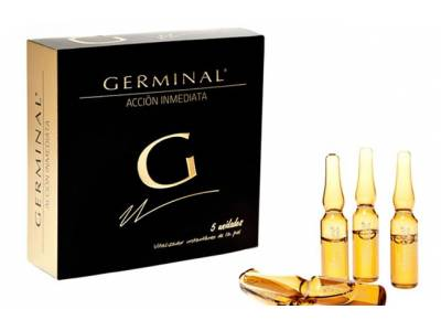 GERMINAL ACCIÓN INMEDIATA 5 AMPOLLAS 1.5 ml.