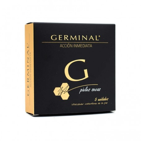 GERMINAL ACCIÓN INMEDIATA PIELES SECAS 5 AMPOLLAS 1.5 ml.