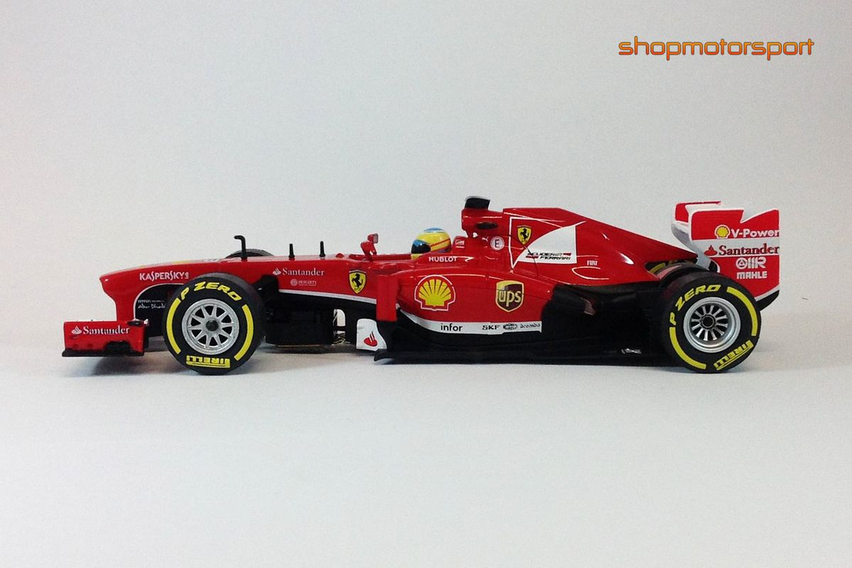 slot cars ferrari f138 carrera 27466 fernando alonso. Black Bedroom Furniture Sets. Home Design Ideas
