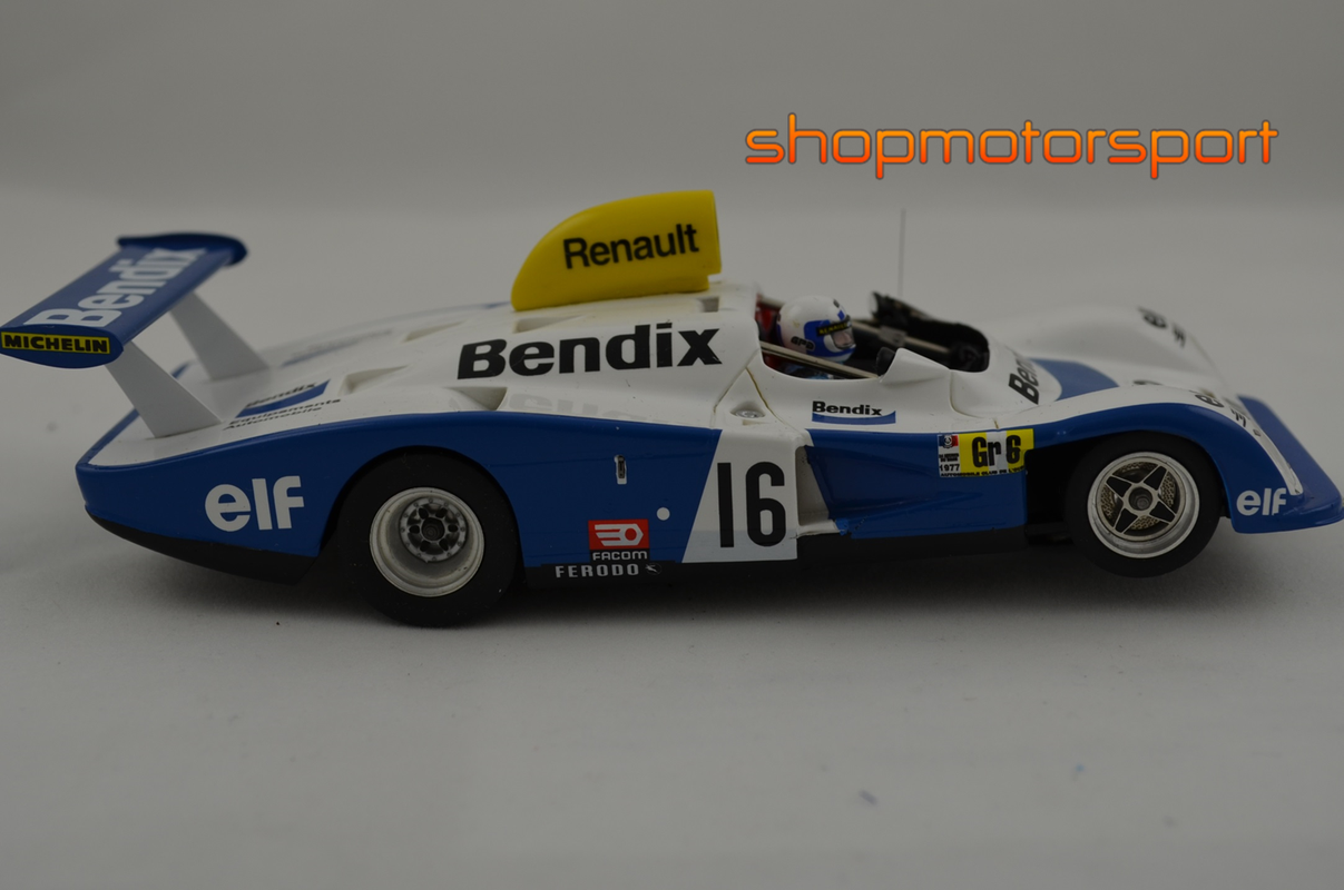 alpine renault a442 le mans miniatures lm 132077a rene arnoux didier pironi guy frequelin. Black Bedroom Furniture Sets. Home Design Ideas