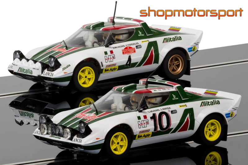 lancia stratos gr.4 / scalextric superslot 3894a (pack) / sandro
