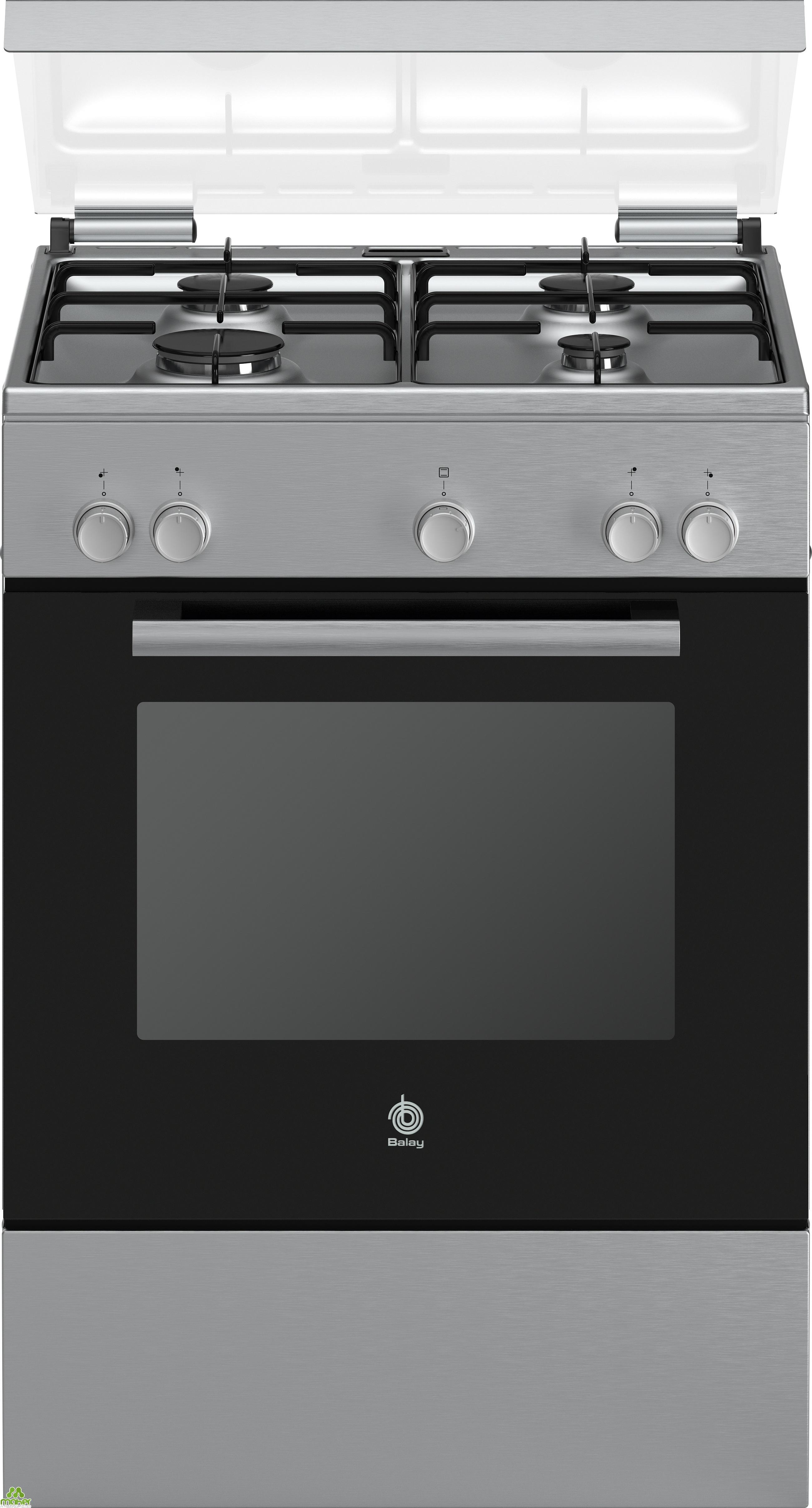 Cocina electrica vitroceramica blanca meireles e603w for Outlet cocinas a gas