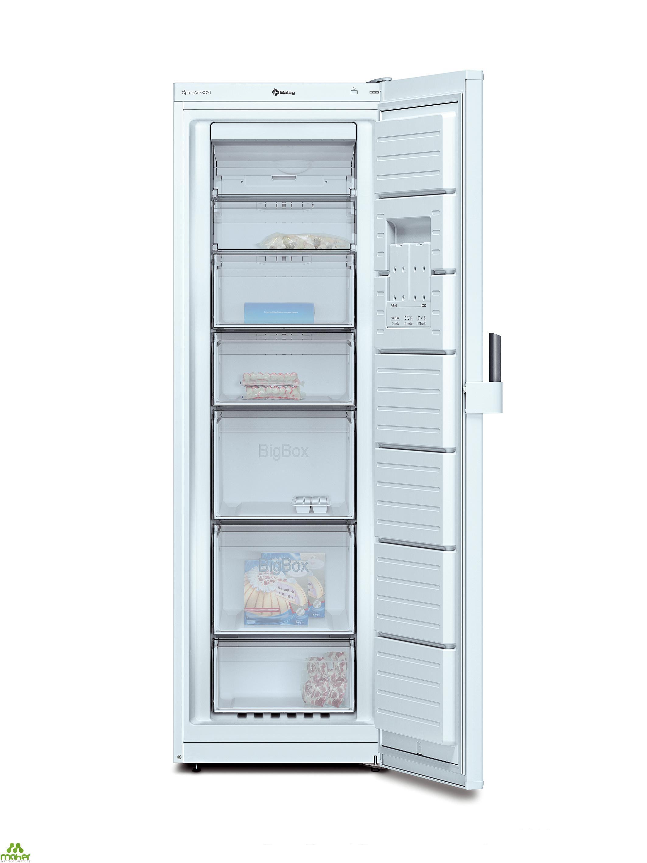 congelador vertical no frost a blanco balay 3gf8603b. Black Bedroom Furniture Sets. Home Design Ideas