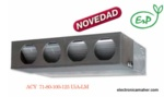 AIRE ACONDICIONADO DE CONDUCTOS INVERTER SERIE A 8084 frig y 9632 kcal FUJITSU ACY100UIA-LM