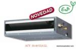 AIRE ACONDICIONADO DE CONDUCTOS INVERTER SERIE A 3698 frig y 4300 kcal FUJITSU ACY40UIA-LL