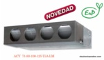 AIRE ACONDICIONADO DE CONDUCTOS INVERTER SERIE A 7310 frig y 8600 kcal FUJITSU ACY80UIA-LM
