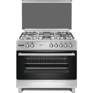 INOX SVAN Cocina 5 fuegos SVK9561FX PRO 90x60 cm