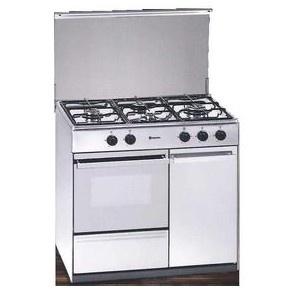 Cocina gas butano con portabombona acero inox meireles g for Cocinas a gas precios