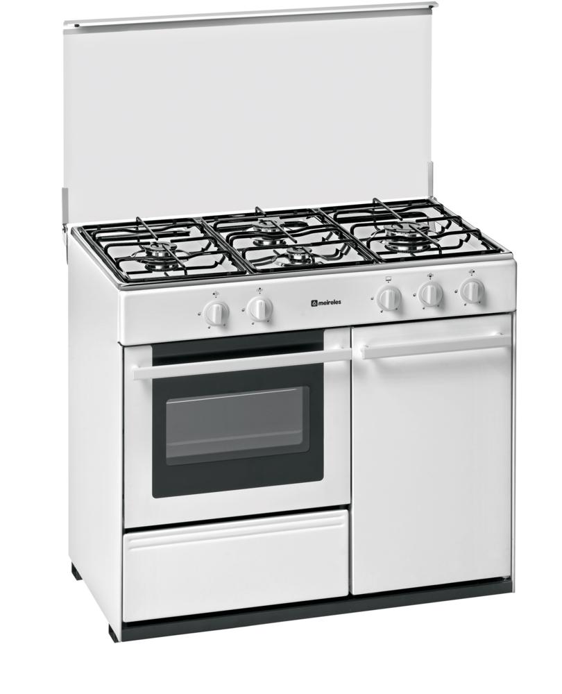 cocina gas butano con portabombona meireles g 2940 v w