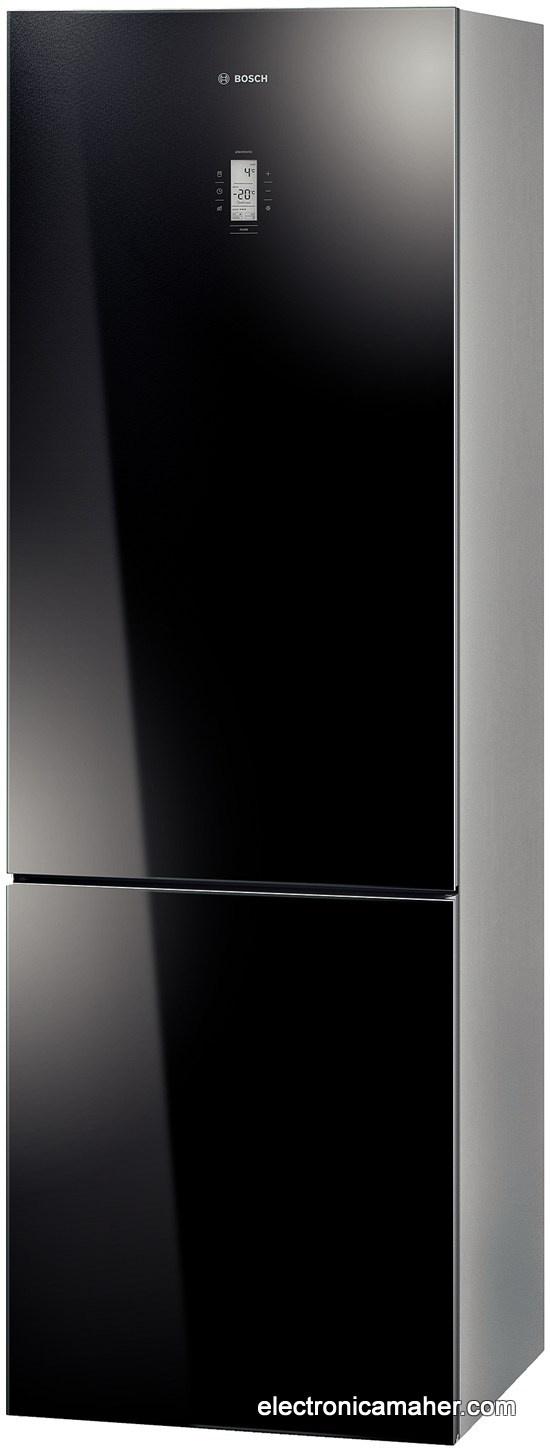 Frigorifico combi no frost puerta cristal negro a bosch - Frigorificos una puerta no frost ...
