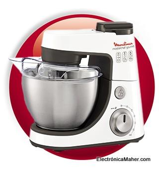 Robot de cocina moulinex qa4131b1 masterchef gourmet silver - Robot cocina masterchef ...
