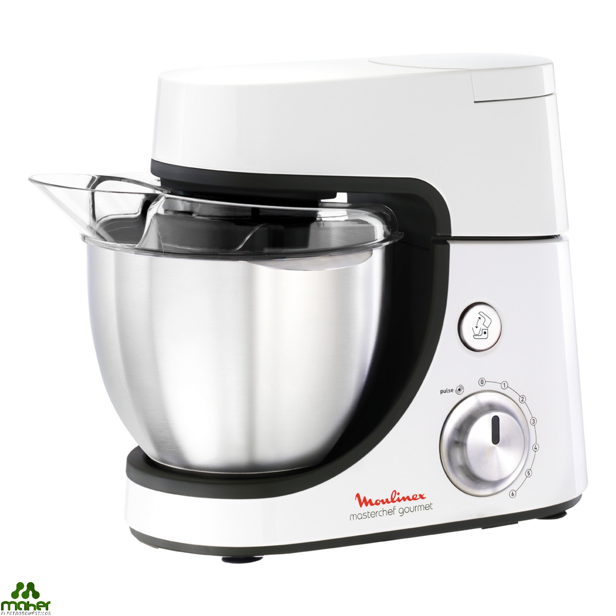 Robot de cocina mastercheff gourmet moulinex qa5081b for Moulinex robot cocina