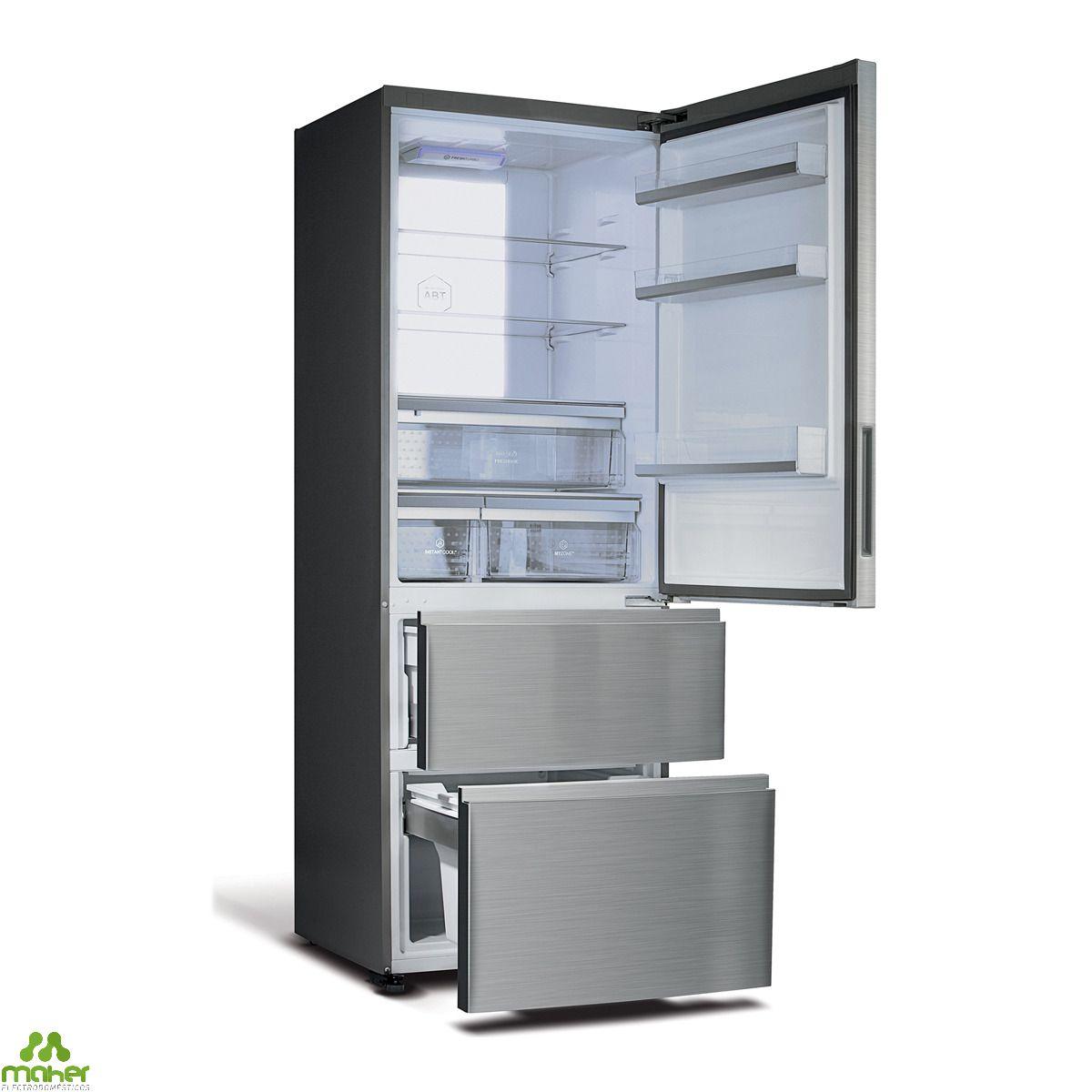 frigorifico combi ancho 70 haier a3fe742cmj. Black Bedroom Furniture Sets. Home Design Ideas