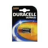 PACK DE 2 PILAS DURACELL ULTRA AAAA - 1.5V - ALCALINA AAAA