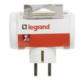 BASE MULTIPLE LATERAL LEGRAND 050662 - 3X2P+T - 10/16A - BLANCO