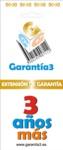 EXTENSION DE GARANTIA 3 AÑOS LIMITE MAXIMO 5000 EUROS
