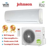 AIRE ACONDICIONADO SPLIT INVERTER GAS R32 3010 Frig. Y 3277 Kcal. JOHNSON JT35K