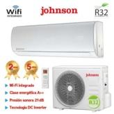 AIRE ACONDICIONADO SPLIT INVERTER GAS R32 4472 Frig. Y 4790 Kcal. JOHNSON JT52K