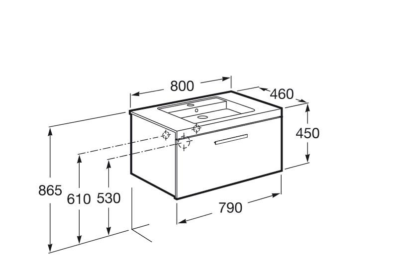 mueble de baño roca - Ítem6