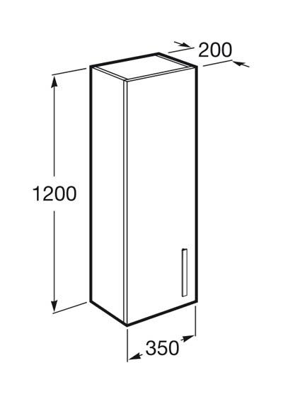 Mueble de baño Prisma 1 cajón - Ítem7